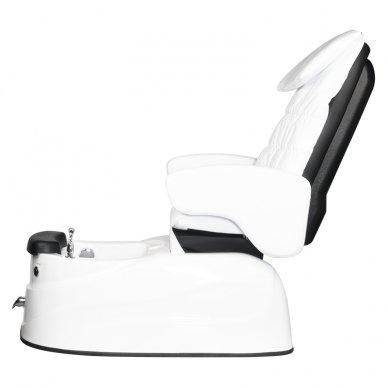 Pedikiūro krėslas PEDICURE SPA AS-122, su masažo funkcija, baltos sp. 5