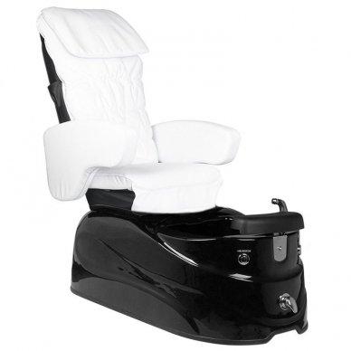 SPA pedikiūro krėslas SPA AS-122, baltos sp. su masažo funkcija
