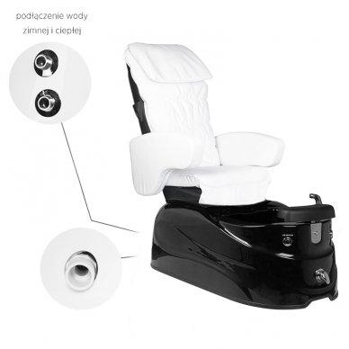 SPA pedikiūro krėslas SPA AS-122, baltos sp. su masažo funkcija 5