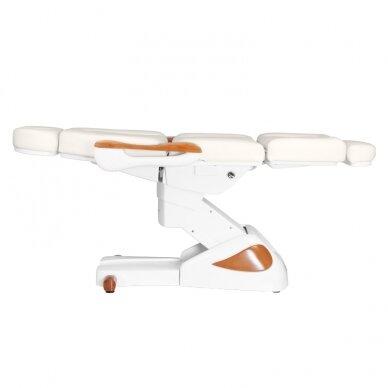 Elektrinis kosmetologijos krėslas 2323 IVORY/WOOD, 4 varikliai 9