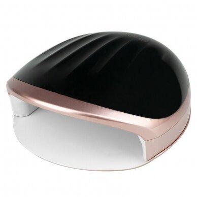 Lempa nagams DUAL LED UV S5 48W, BLACK - ROSE