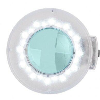 LED Lempa su lupa, stovu S5 ir reguliuojamu šviesos intensyvumu 2