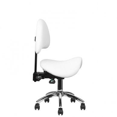 Meistro kėdutė 249A, baltos sp. 6