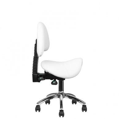 Meistro kėdutė 249A, baltos sp. 8