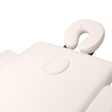 Sulankstomas masažo stalas WOOD COMFORT 2 CREAM 5