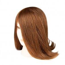 100% natūralių plaukų manekeno galva