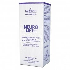 FARMONA NEUROLIFT mimikos raukšlių mažinimo priemonė po akimis, aplink lūpas, dieną ir naktį, 30 ml