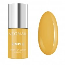 NEONAIL hibridinis lakas SIMPLE 3 in 1. 7,2 g - ENERGIZING