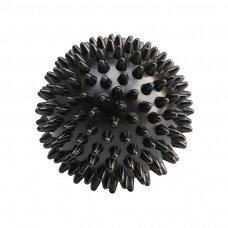 Akupresūros masažo kamuolys ACTIVFIZJO, juodos sp.