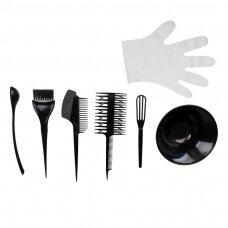 Plaukų dažymo įrankių rinkinys C-08R