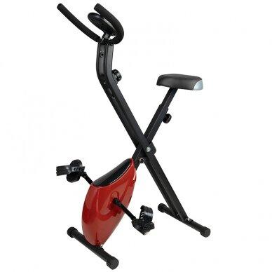 X-BIKE dviratis - treniruoklis, raudonos sp. 2