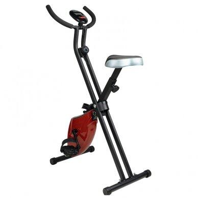 X-BIKE dviratis - treniruoklis, raudonos sp. 3