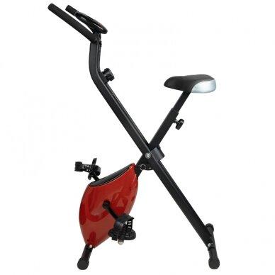 X-BIKE dviratis - treniruoklis, raudonos sp.