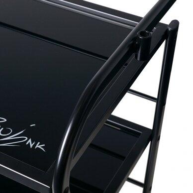 Salono vežimėlis 1013, juodos sp. 2