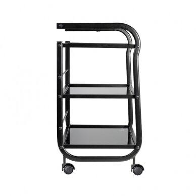 Salono vežimėlis 1013, juodos sp. 5