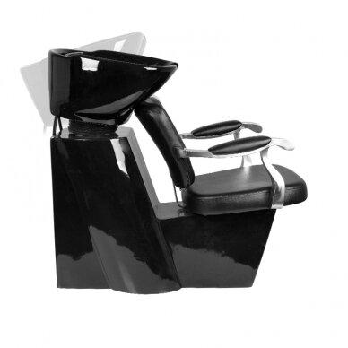 Kirpyklos plautuvė MOLISE, juodos sp.  3