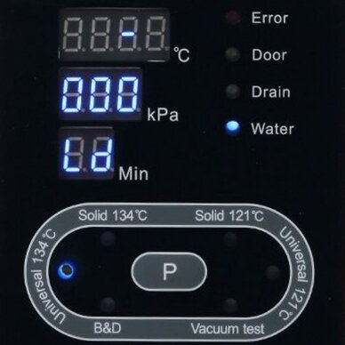 LAFOMED LFSS23AA LED autoklavas su spausdintuvu 23-L KL.B 8
