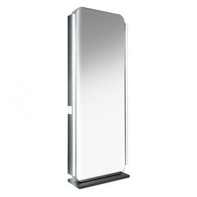 Kirpyklos dvipusis veidrodis su apšvietimu GABBIANO DS2 4