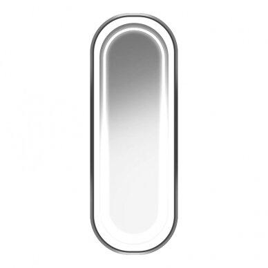 GABBIANO kirpyklos konsolė su apšvieimu B098, sidabrinės sp. 2