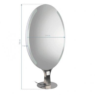 GABBIANO dvipusė konsolė - veidrodis B-099 2