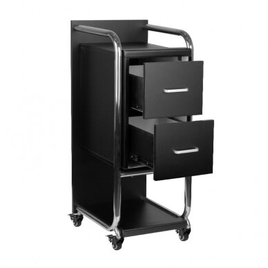 Kirpyklos vežimėlis SOLO, juoda sp. 3