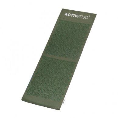 Akupresūros kilimėlis ir pagalvė ACTIVFIZJO, žalia sp. 3