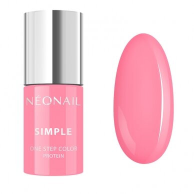 NEONAIL hibridinis lakas SIMPLE 3 in 1. 7,2 g - LOVELY