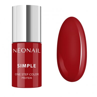 NEONAIL hibridinis lakas SIMPLE 3 in 1. 7,2 g - SPICY