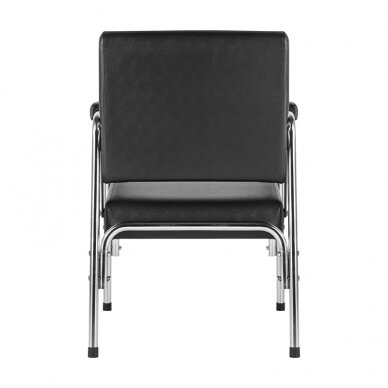 GABBIANO salono krėslas GB-1004 kirpyklos plautuvėms, juodos sp.  5