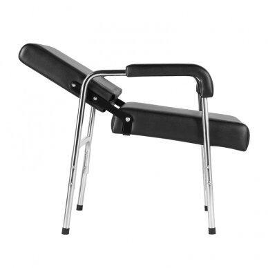 GABBIANO salono krėslas GB-1004 kirpyklos plautuvėms, juodos sp.  6