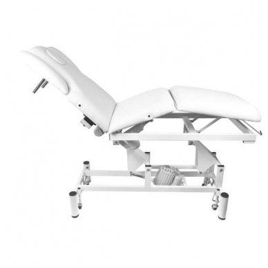 Elektrinis masažo stalas - lova AZZURRO 707A, baltos sp. 6