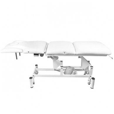Elektrinis masažo stalas - lova AZZURRO 707A, baltos sp. 5