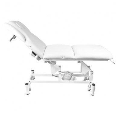 Elektrinis masažo stalas - lova AZZURRO 707A, baltos sp. 2