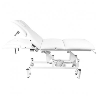 Elektrinis masažo stalas - lova AZZURRO 707A, baltos sp. 3