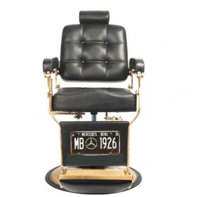 Barberio krėslas BOSS, juodos sp. 2