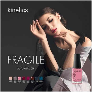 Nagų lakas Kinetics SolarGel Alluring Brown #410, 15 ml    2