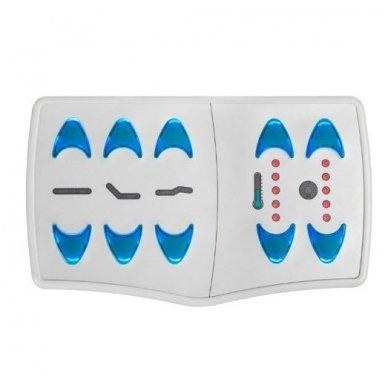 SPA lova - gultas AZZURRO 361A-1 su vandens čiužiniu, šildoma, baltos sp. 3