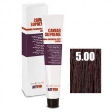 """5.00 """"KAYPRO Caviar Supreme"""" kreminiai dažai be amoniako, intensyvi- šviesiai ruda sp., 100 ml."""