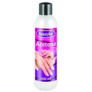 Beautyfor nagų lako valiklis (ACETONINIS), 1000 ml