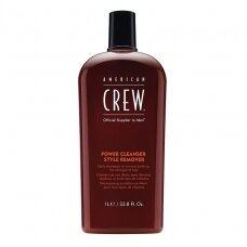 AMERICAN CREW Power Cleaner Style Remover valantis šampūnas, 250ml