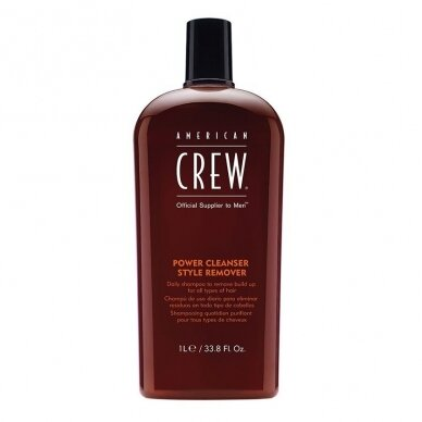 AMERICAN CREW Power Cleaner Style Remover valantis šampūnas, 250ml