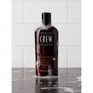 AMERICAN CREW šampūnas nuo pleiskanų + sebumo kontrolė, 250 ml 2