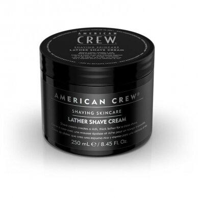 AMERICAN CREW šilkinis skutimosi kremas, 250 ml 2