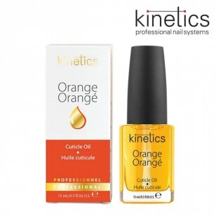 Apelsinų aromato nagų odelių aliejus KINETICS Orange Cuticle Essential Oil, 15 ml