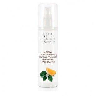 APIS purškiama veido dulksna su ekologiniu vandeniu, apelsinais ir kamieninėmis ląstelėmis, 150 ml