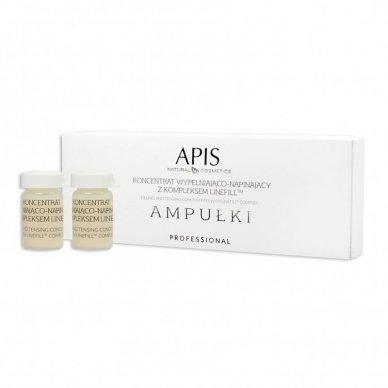 APIS ampulės su slyvų ekstraktu normaliai - sausai odai, 5x5ml