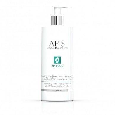 APIS API-PODO pėdų kremas su 20% šlapalu ir jonizuotų sidabru, 500ml