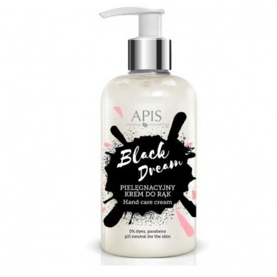 APIS Black Dream - drėkinamasis kremas rankoms, 300 ml