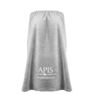 APIS frotinė pelerina su logotipu, pilkos sp.