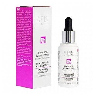 APIS Hyaluron 4D + Ligostem TM serumas sausai ir dehidratuotai odai, 30ml